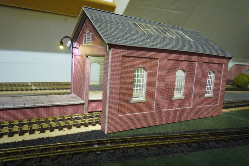 Main Goods Shed Outside Light