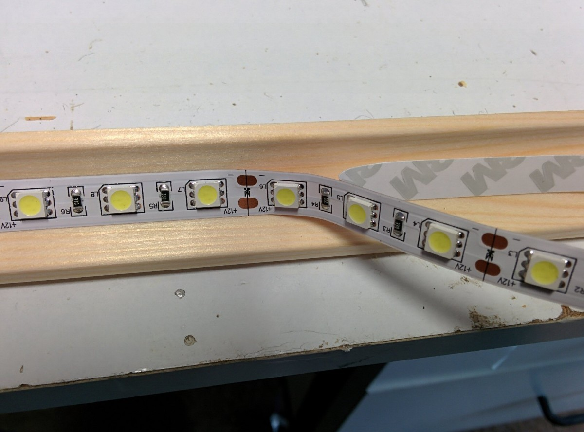 Applying LED Strip