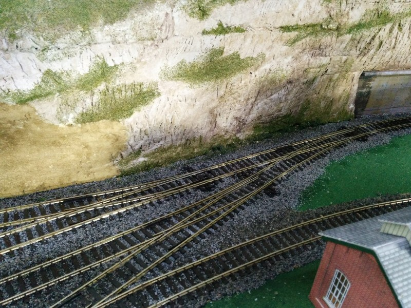1406-045 Model Railway - Track Alterations