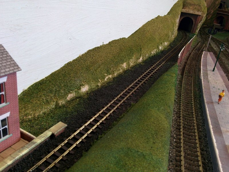 Narrow Gauge Track to Tunnel